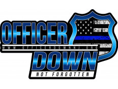 Officer Down Sticker
